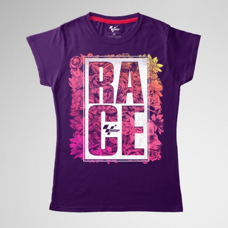 Camiseta Race Flowers, mujer, MotoGP