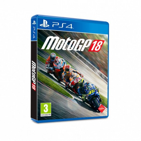Juego MotoGP 18 PLAYSTATION PS4