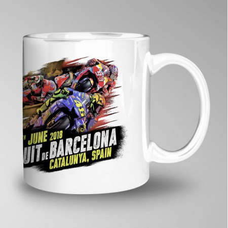 Cup of the 'Premi Monster Energy de Catalunya 2018'