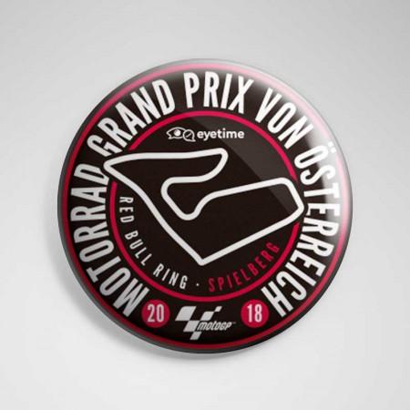 Sticker 'eyetime Motorrad Grand Prix von Österreich'