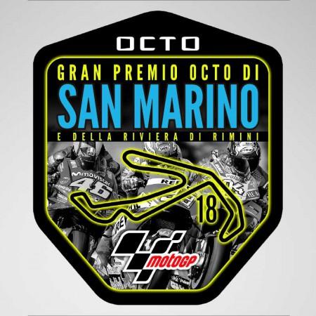 GP San Marino 2018 Pegatina