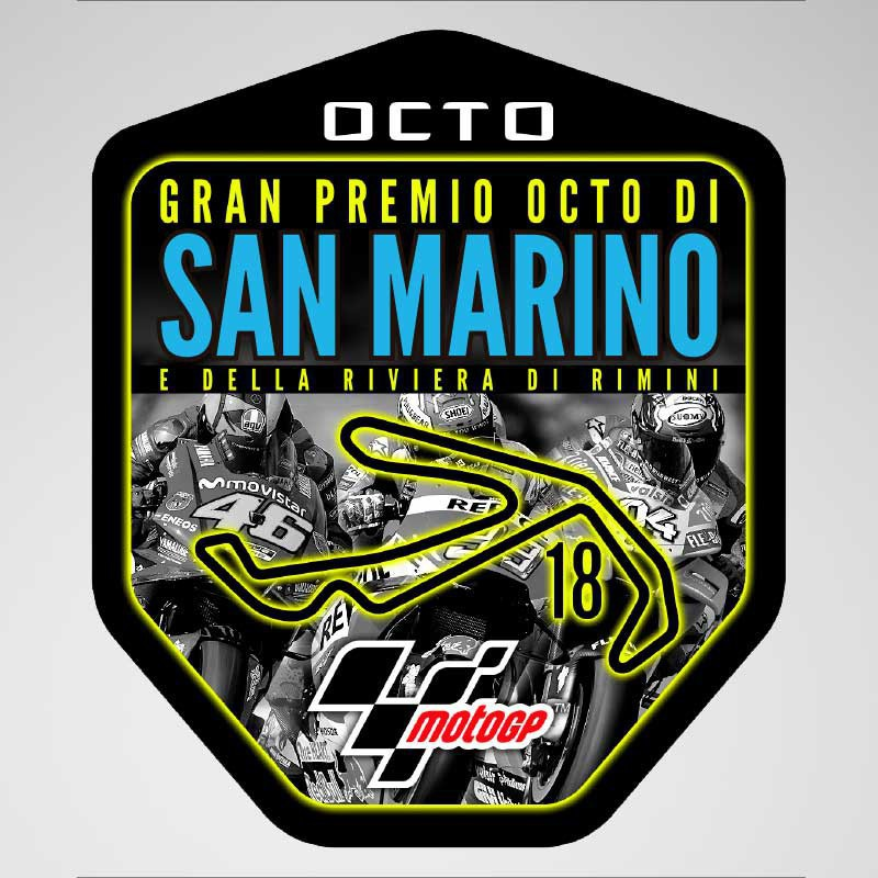 GP San Marino 2018 Sticker