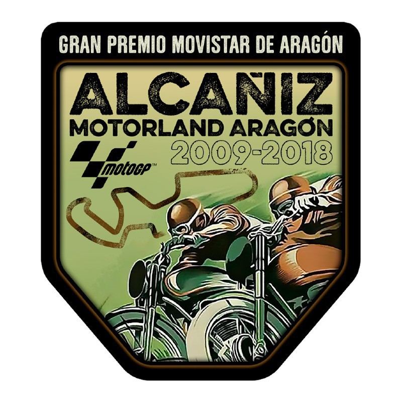 GP Aragón 2018 Sticker