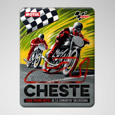 GP Valencia 2018 - Sticker