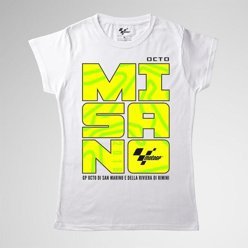 t-shirt  GP San Marino 2018 Misano woman