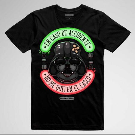 'En caso de accidente...' Camisetas Moteras divertidas