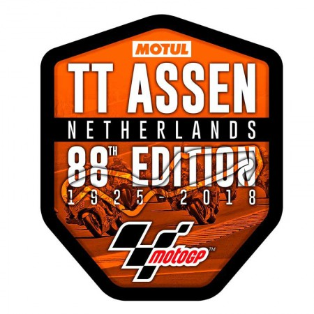 GP TT ASSEN 2018 Sticker - Netherlands