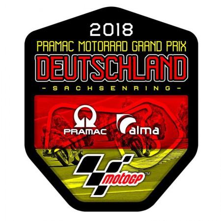GP Deutschland Pegatina