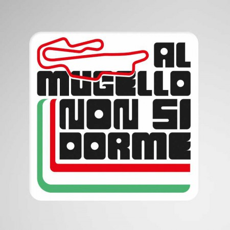 GP Italia, Mugello, Pegatina