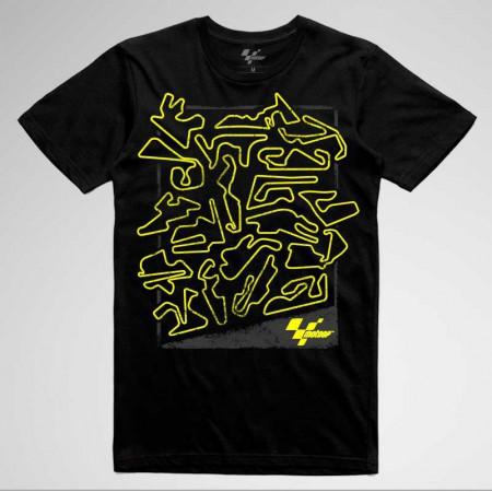 Layouts Fluor. T-shirt. MotoGP