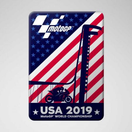 Pegatina USA 2019