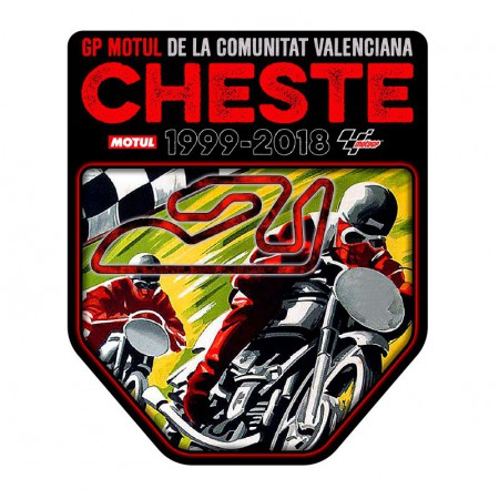 Pegatina GP Valencia Cheste 2018