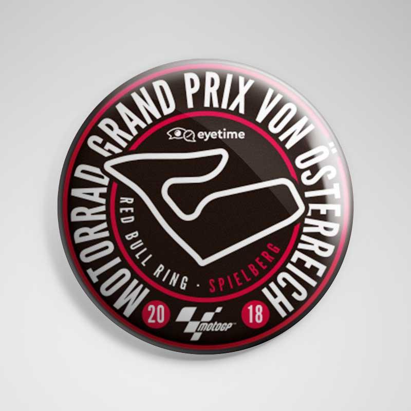 Imán 'eyetime Motorrad Grand Prix von Österreich'
