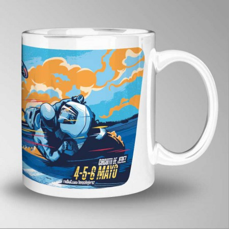 GP Spain, Jerez 2019, Mug