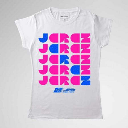 Camiseta mujer, del Circuito de Jerez Fluor