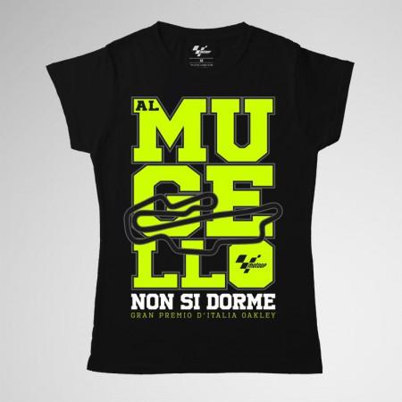 Camiseta Mujer, GP Italia 2019 - Al Mugello non si dorme