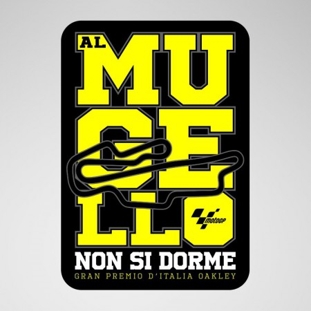 Sticker GP Italy, Mugello 2019
