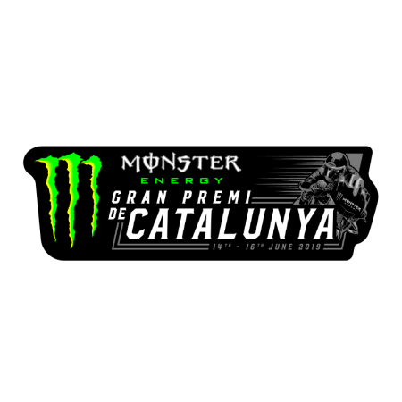 GP Monster Energy Catalunya, Pegatina 2019