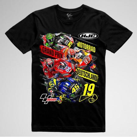 Camiseta GP Alemania 2019 fluor