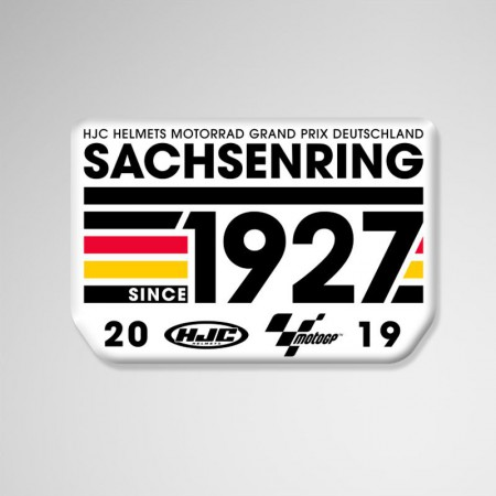 GP Deutschland, 2019, Sticker