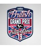 GoPro British Grand Prix 2019 Sticker