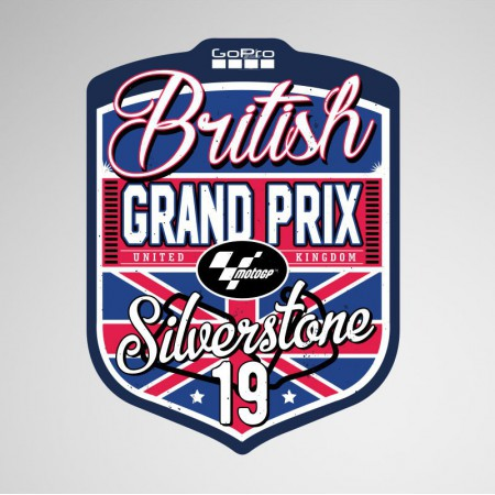 GoPro British Grand Prix 2019 Sticker