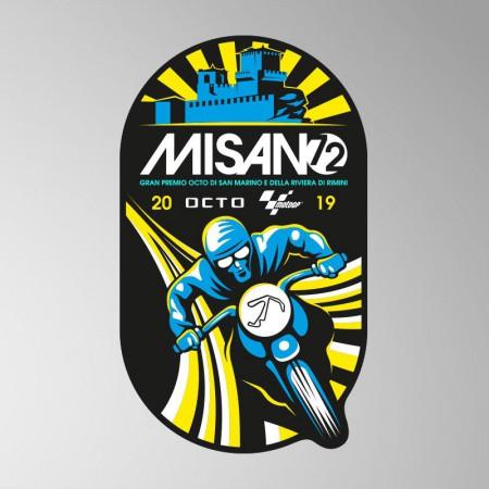 GP San Marino, 2019 Sticker