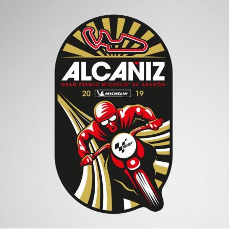 GP Aragon 2019, Sticker