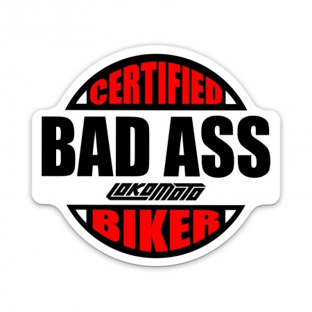 BAD ASS, Sticker