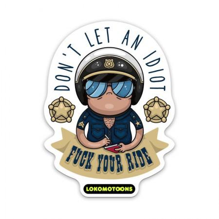 POLICE, Sticker