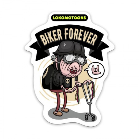 BIKE FOREVER, Sticker