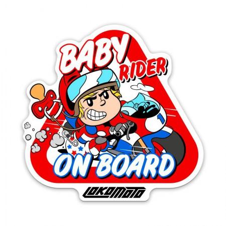 BABY RIDER - ON BOARD, Pegatina