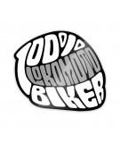 'HELMET', Pegatina 100S%Biker Lokomoto