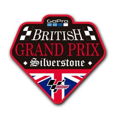 GoPro British Silverstone. Parche