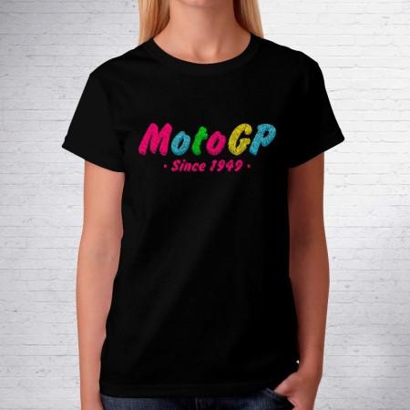 Camiseta mujer manga corta Colour Toalla