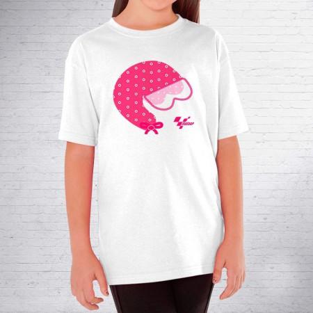 Camiseta niña casco