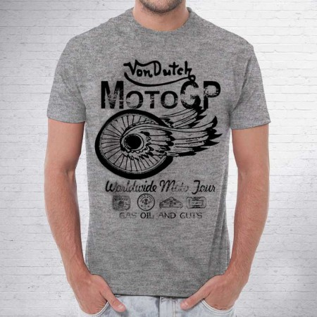 Camiseta Von dutch Alas