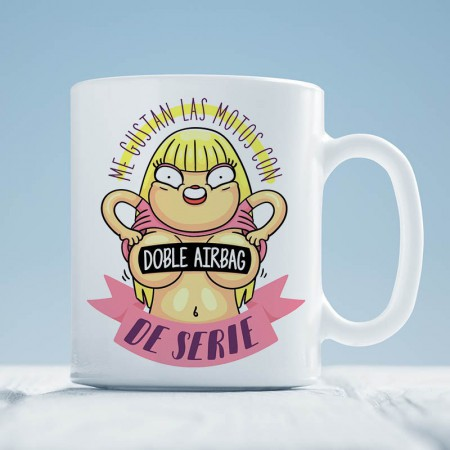 Taza Doble Airbag