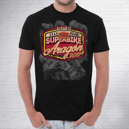 Camiseta Superbike Aragón 2017