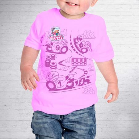 Camiseta Baby Parche Circuito de Jerez