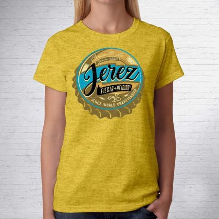 Camiseta del Circuito de Jerez Chapa de Mujer
