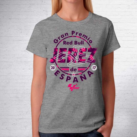 Camiseta de mujer GP RedBull España Jerez