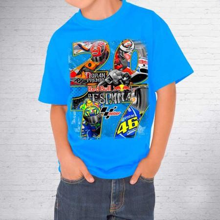 Camiseta Kid GP RedBull España Jerez