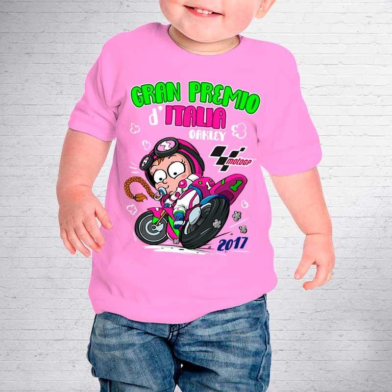 Baby T Shirt Of The 2017 Italian Grand Prix Mugello Original Motogp