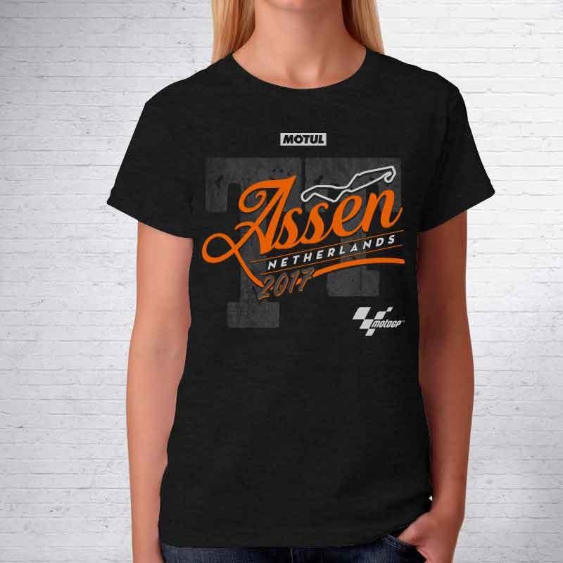 Camiseta de mujer GP Motull TT Assen