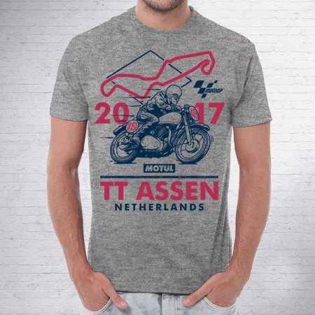 Camiseta Oficial de GP Motul TT Assen, temporada 2017