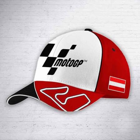 Gorra GP Austria Roja