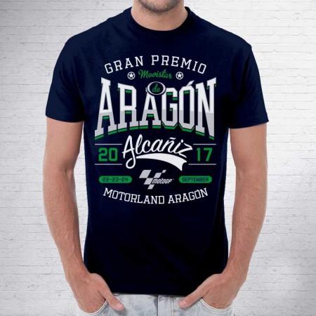 Camiseta MotoGP. Gran Premio ARAGÓN Alcañíz