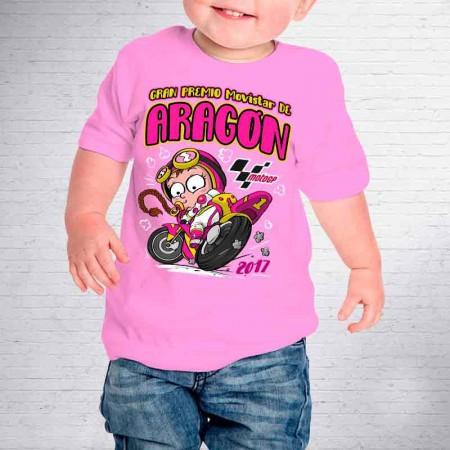 Camiseta de bebé Gran Premio Aragón 2017, MotoGP