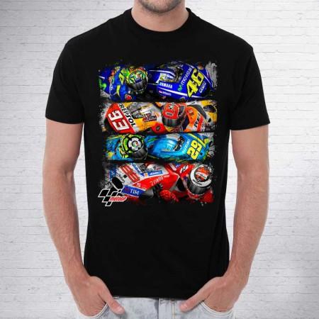 Camiseta MotoGP Motos Distressed